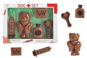 Schokofigur Doc Set