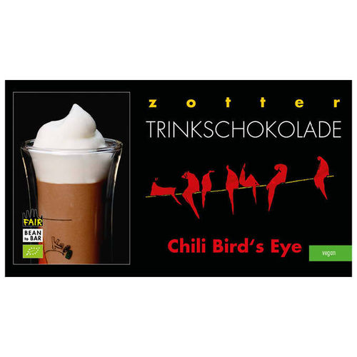 Trinkschokolade Chili Bird's Eye